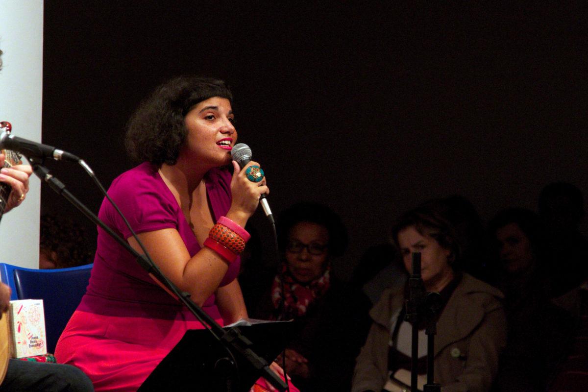 Joana Reis apresenta A Lisboa  | Foto: Igor Sperotto
