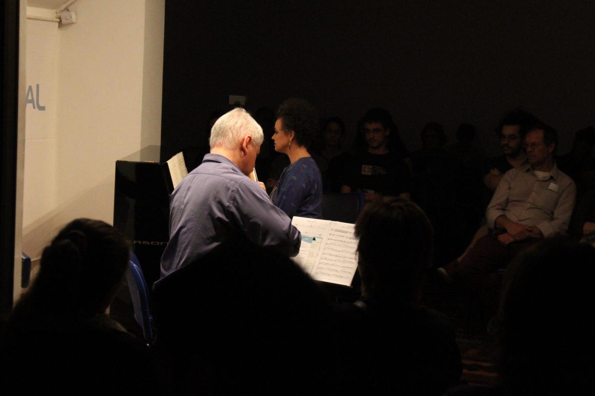 Recital de Catarina Domenici e James Correa  | Foto: Igor Sperotto