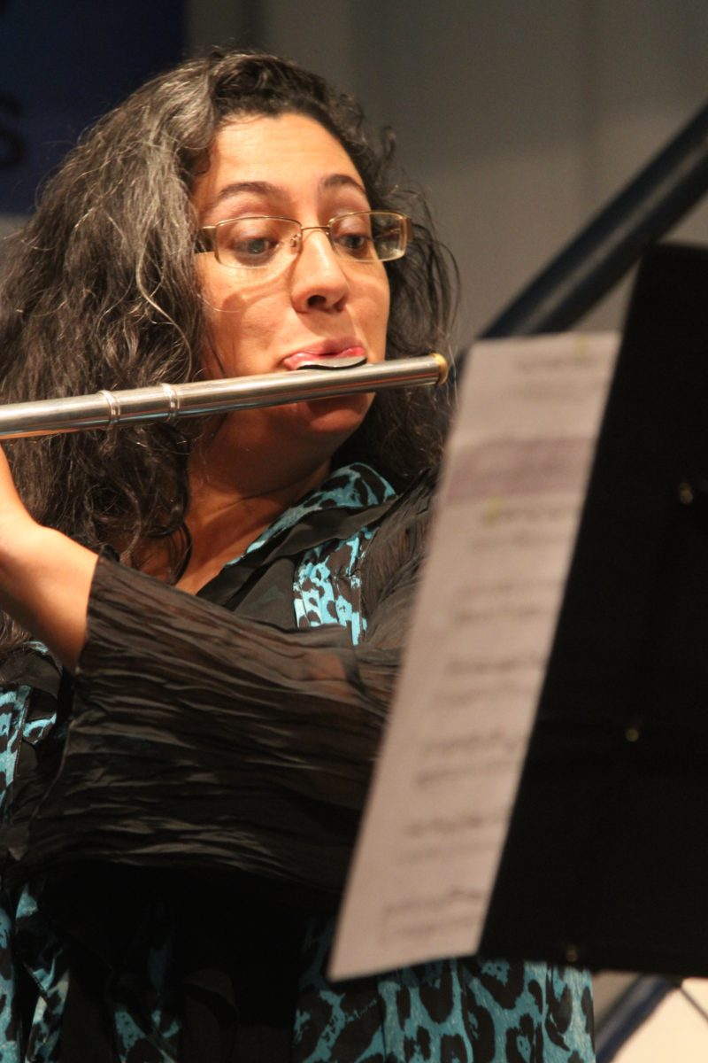 Duo de flauta e violoncelo | Foto: Igor Sperotto