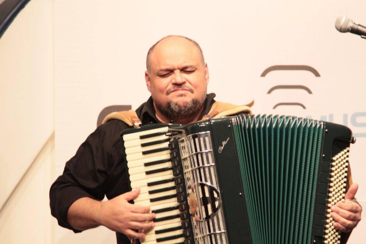 Chico Chagas apresenta jazz accordion | Fotos:Igor Sperotto