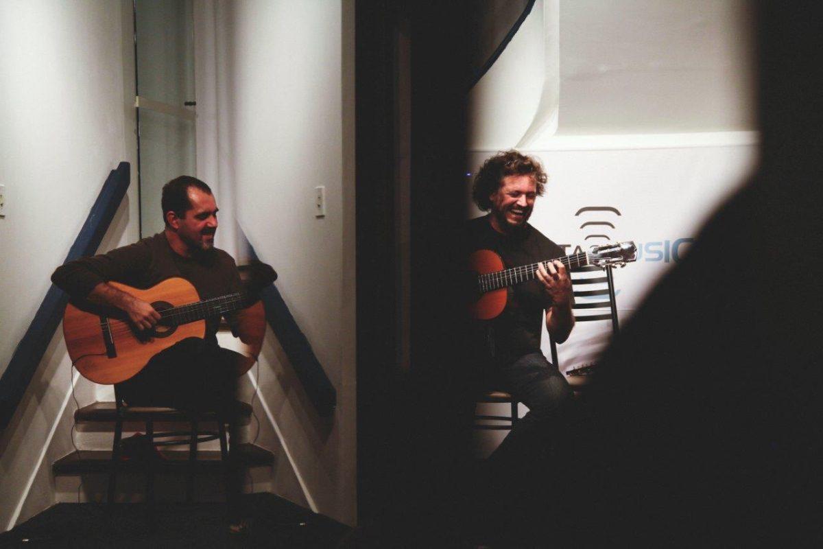 Encontro de violões | Foto: Leonardo Savaris