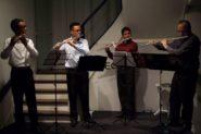 Conjunto de flautas transversais Arsis | Foto: Leonardo Savaris