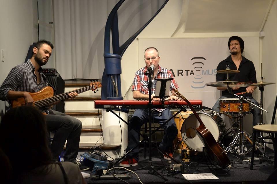 Uruguaio Dany Lopez lança seu CD Polk | Foto: Rafaela Possamai