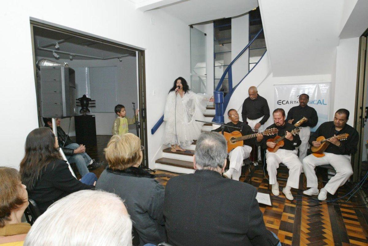 Marília Benites acompanhada do grupo Acordes & Cordas Eixo-temático Claridade | Fotos: Rene Cabrales