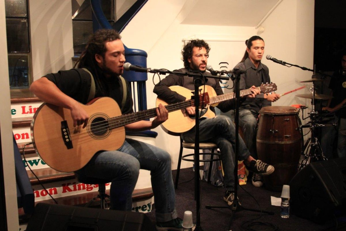 TREM com Filipe Narcizo, Lucas Kinoshita e Andrei Corrêa | Foto:Igor Sperotto