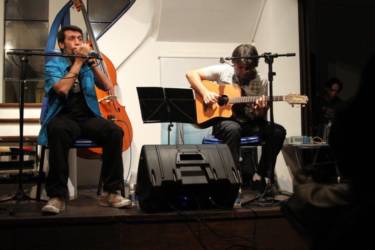 Gambona & Ale Ravanello em Bourbon Blues   Foto:Igor Sperotto