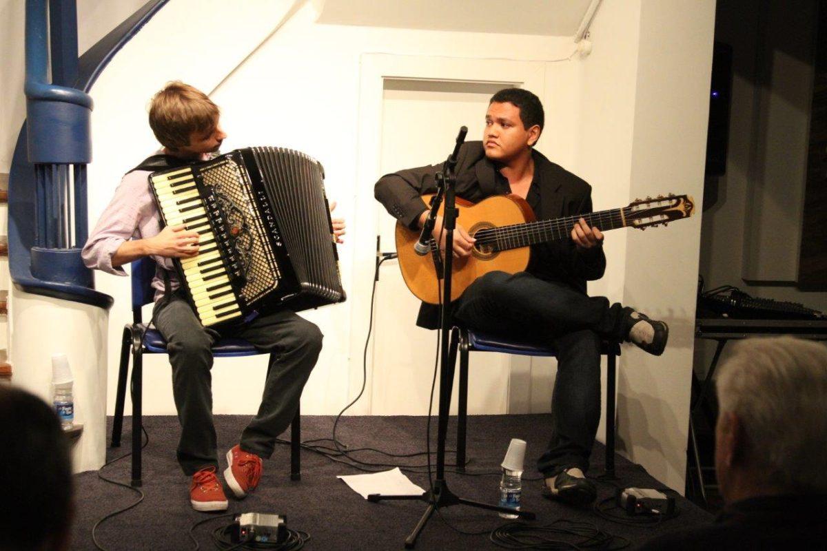 Pedro Franco e Matheus Kleber apresentam Ida | Fotos:Igor Sperotto