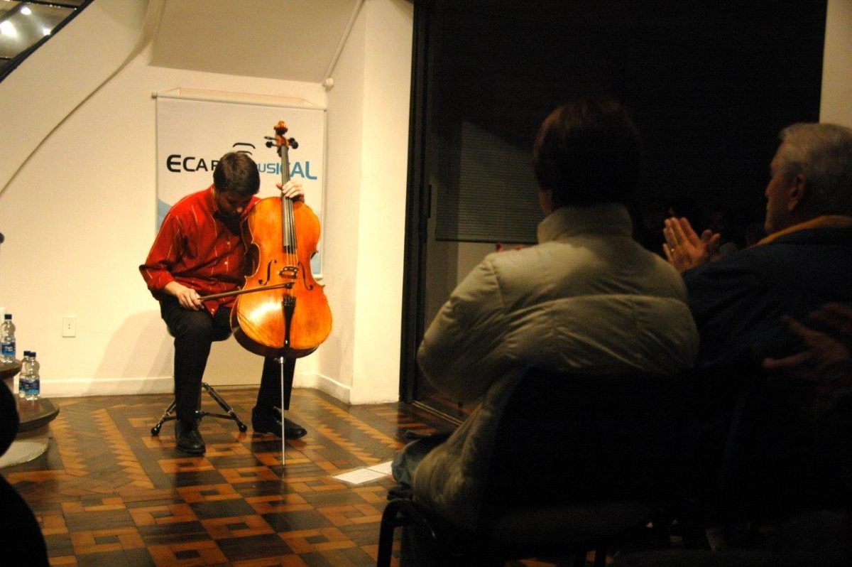 Pedro Huff – Um Violoncelo na Garoa   Foto:Igor Sperotto