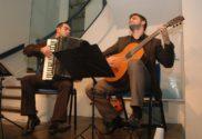 Daniel Castilhos e Lucas Volpatto em Conversa com acordeon e violão | Foto:Igor Sperotto