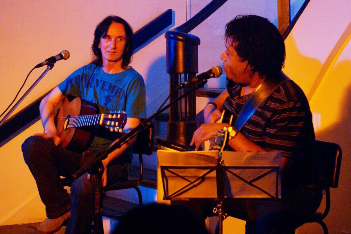 Lua Bonita com Marcos Wacker e Gelson Oliveira | Fotos: Rene Cabrales