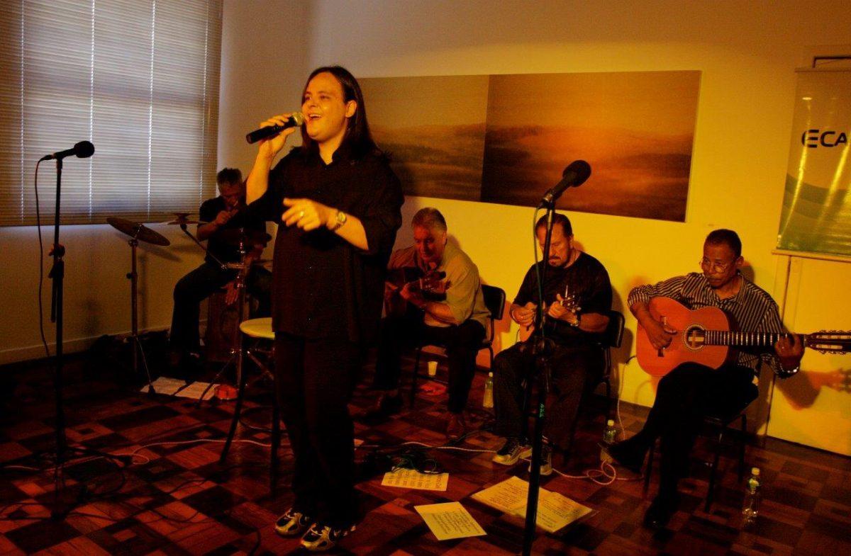 Show do grupo Corda de Bamba | Foto: Rene Cabrales