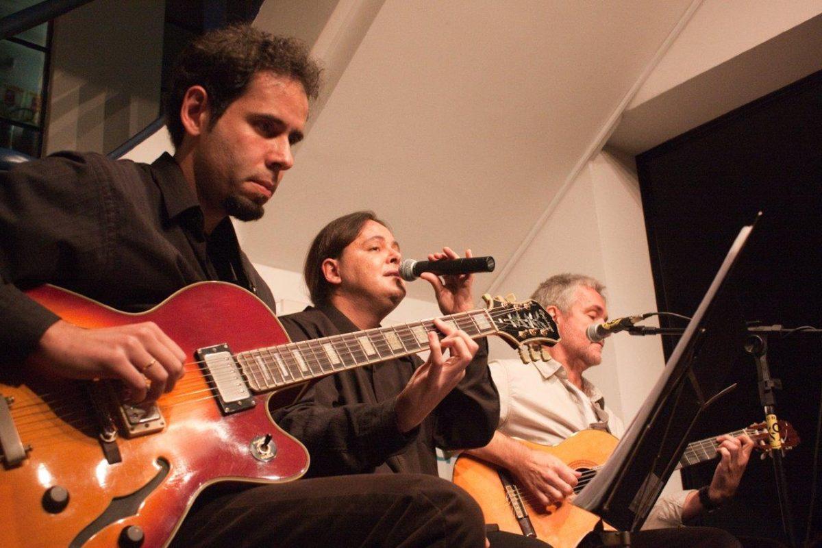 Márcio Celi e Roberto Haag em De Bossa em Samba | Fotos: Rene Cabrales
