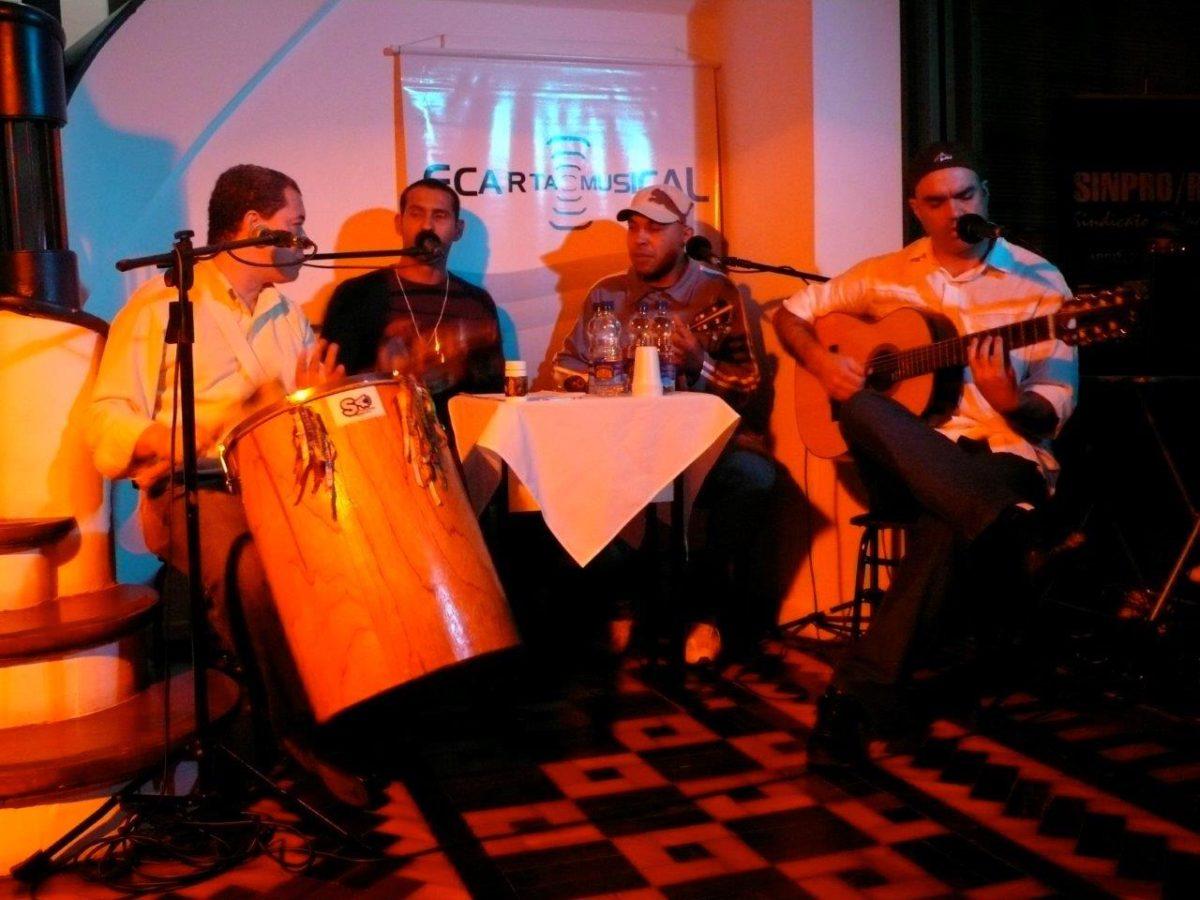 Clara Luz – show do grupo Dois por Quatro | Foto: Rene Cabrales