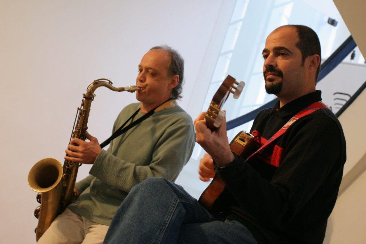 James Liberato e Cláudio Sander | Fotos: Tânia Meinerz