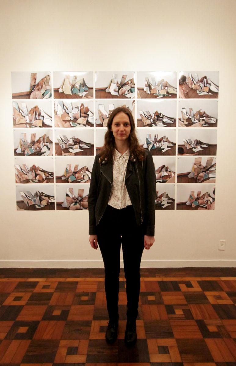 A artista Natalia Schul  | Foto: Igor Sperotto