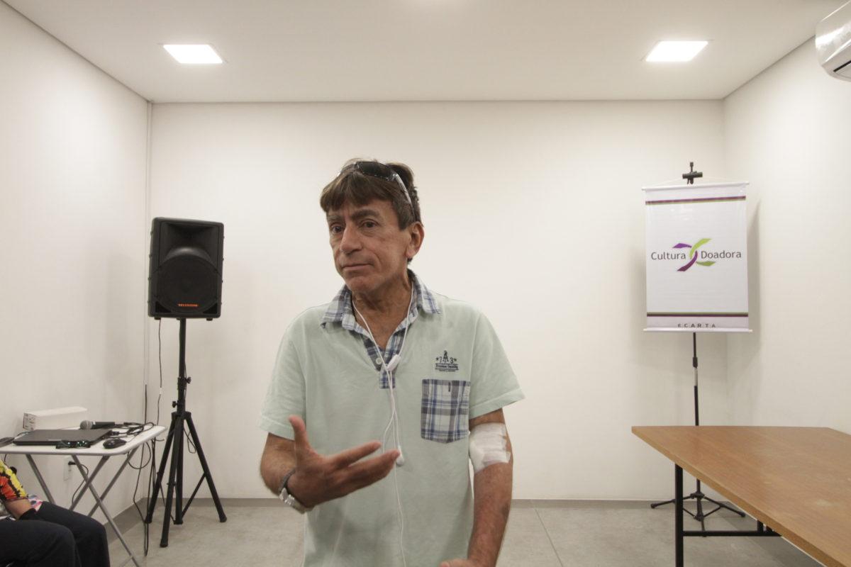 Doação de Órgãos e a Educação – pré-transplantado Rogério Lima |