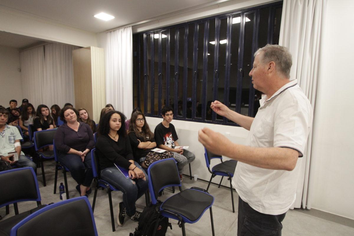 Doação de Órgãos e a Educação – transplantado Zico do Prado | Foto: Igor Sperotto