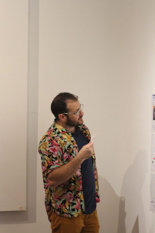 Inauguração da mostra Circulação | Foto: Igor Sperotto