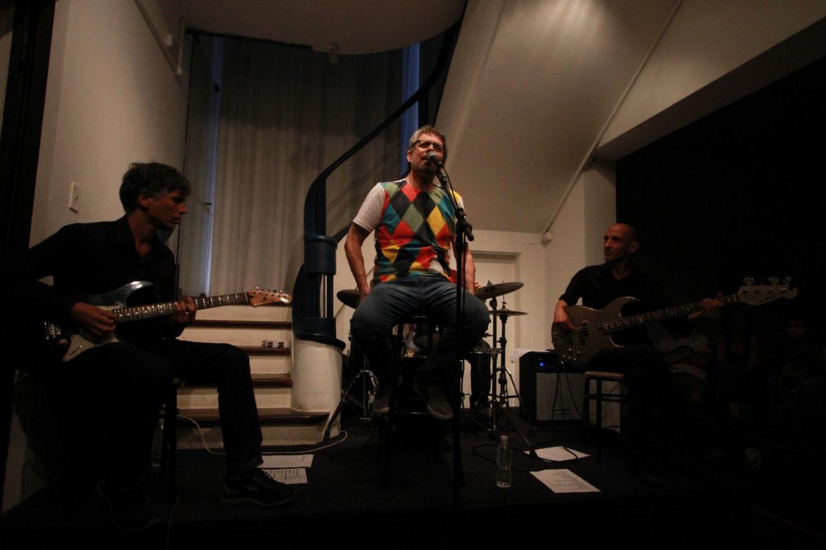 Ricardo Silvestrin e banda | Foto: Igor Sperotto