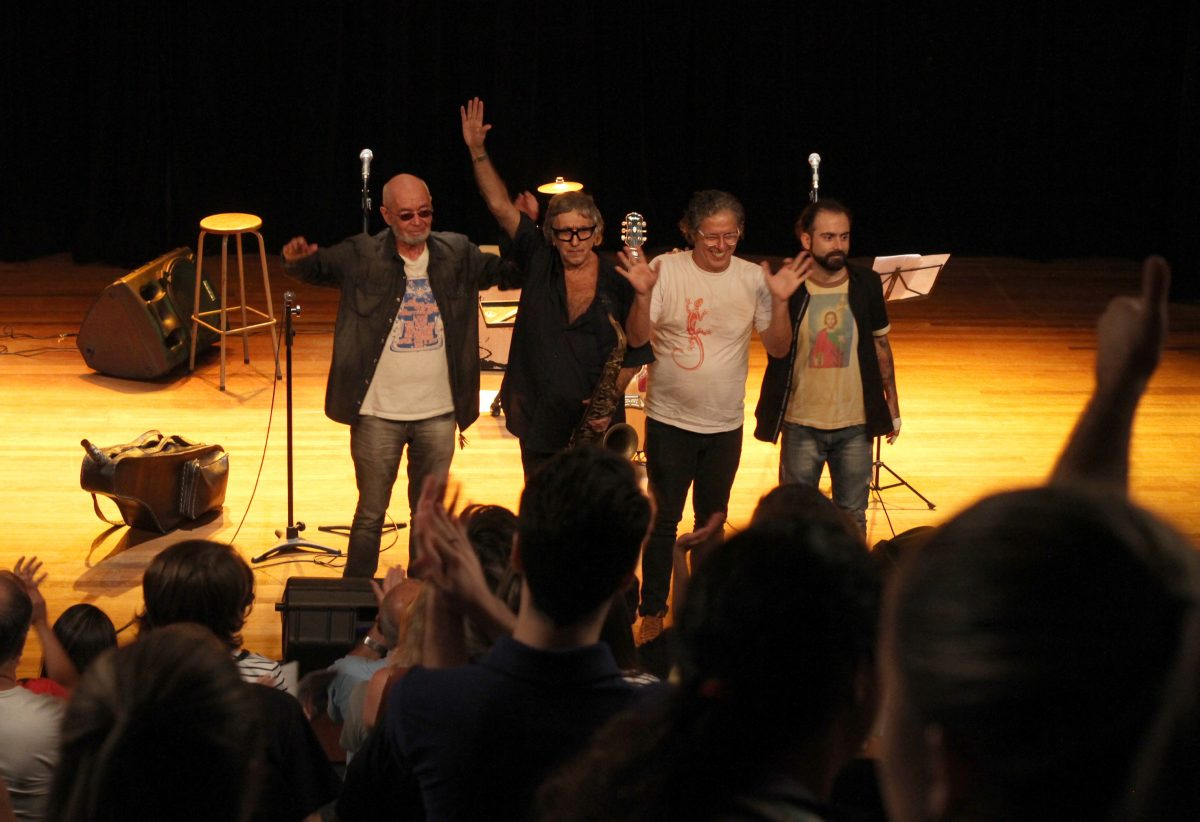 Aula Show em Montenegro – Los 3 Plantados | Foto: Igor Sperotto