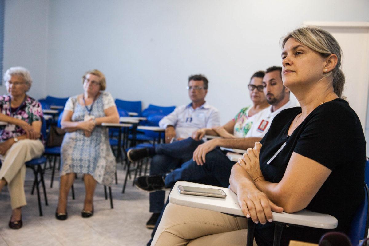 Reunião do coletivo pró-doação de órgãos | Foto: Rodrigo Waschburger