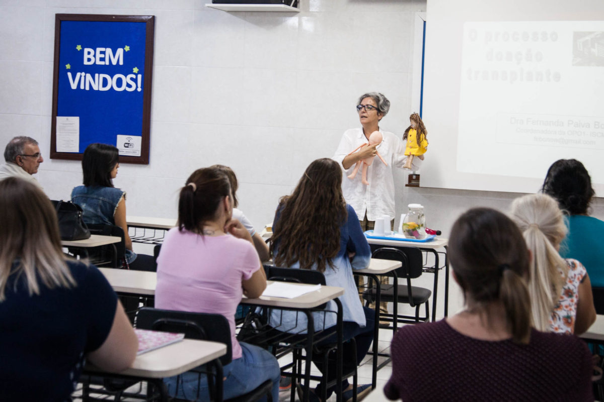 Glaci Borges, produtora do projeto Cultura Doadora | Foto: Rodrigo Waschburger