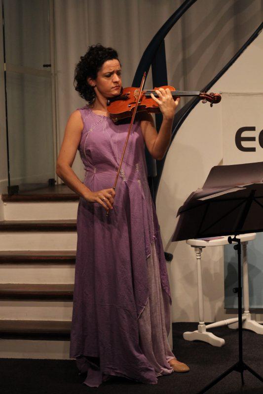 Concerto Afluências, com Paula Bujes e Pedro Huff | Foto: Igor Sperotto