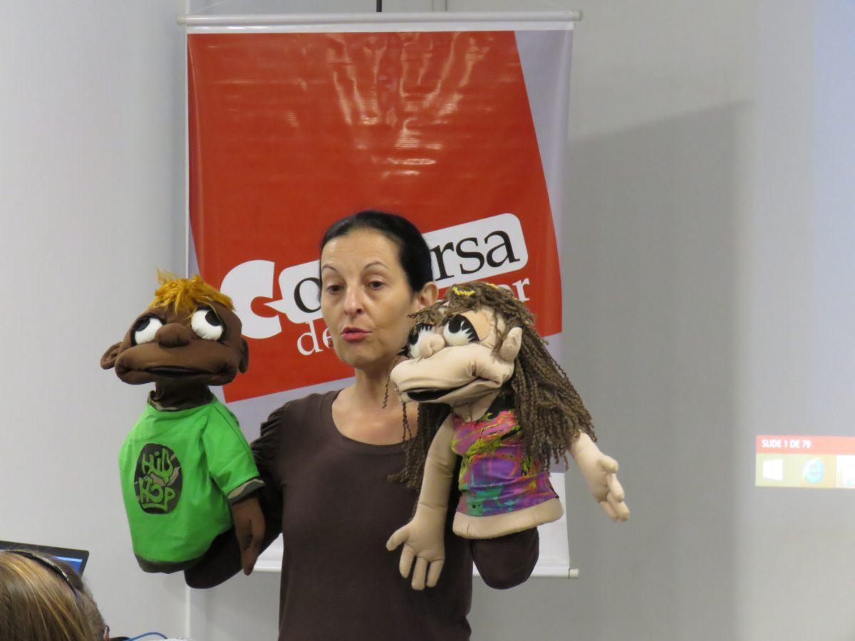 Conversa de Professor com Clara Glock | Foto: Glaci Salusse Borges