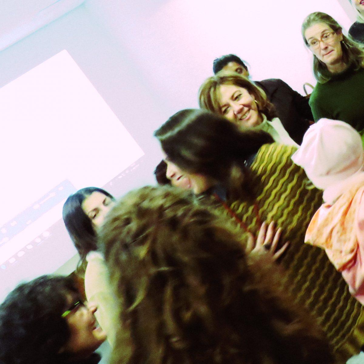 Conversa de Professor com Gislaine Amaral | Foto: Glaci Salusse Borges
