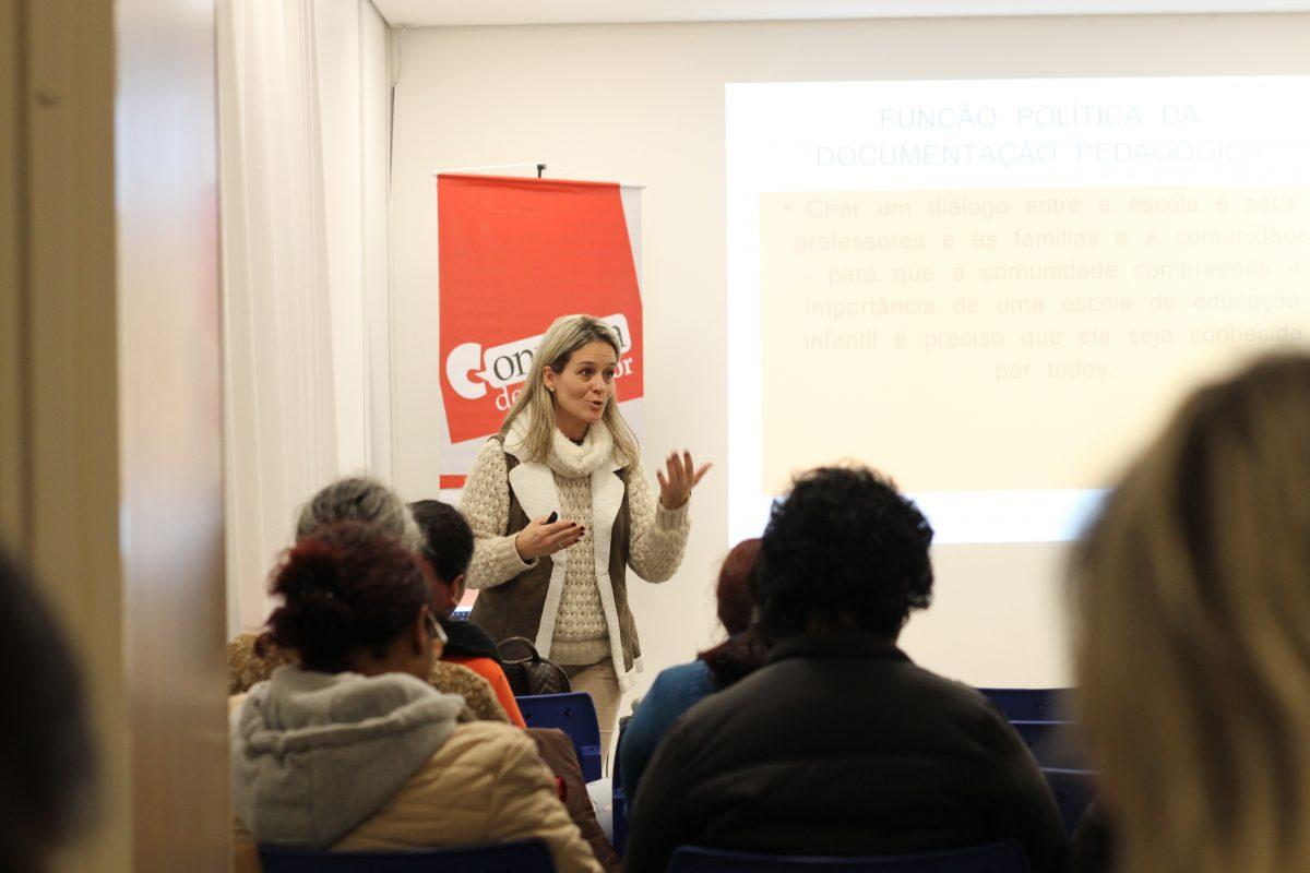 Conversa de Professor com Niqueli Machado | Foto: Igor Sperotto