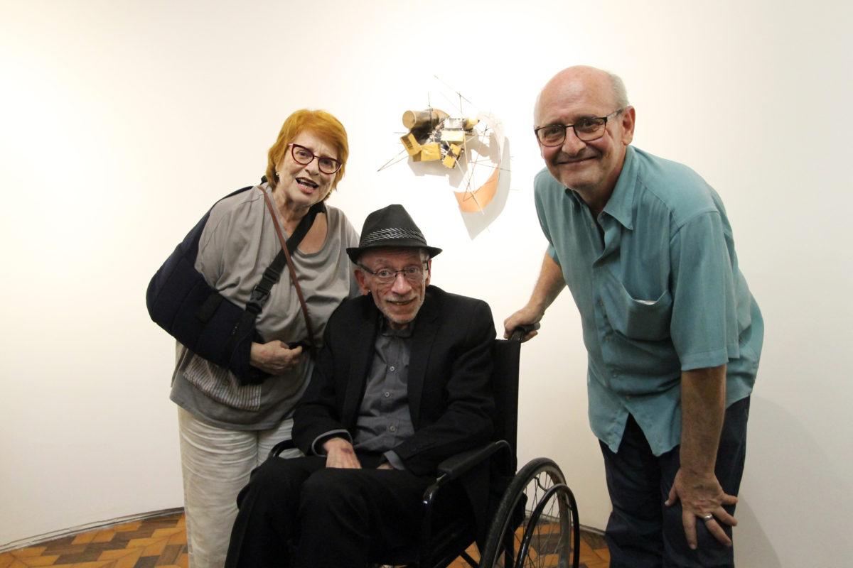 Blanca Brite, Mário e Alfredo Nicolaiewsky   | Foto: Igor Sperotto