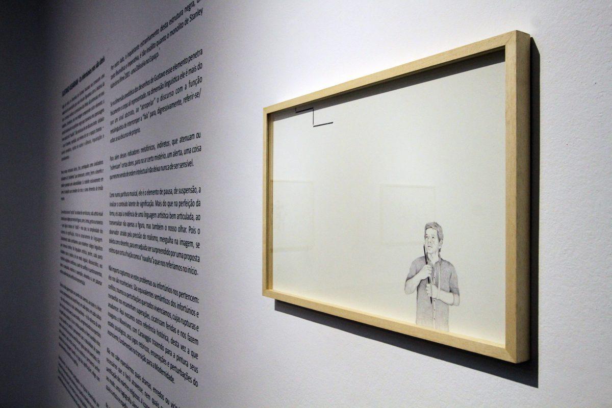 Os infortúnios nos são úteis na Galeria Ecarta | Foto: Igor Sperotto