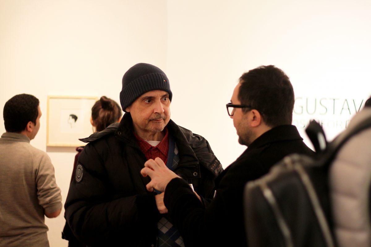 Gustavo Assarian | Os infortúnios nos são úteis | Inauguração | Foto: Igor Sperotto