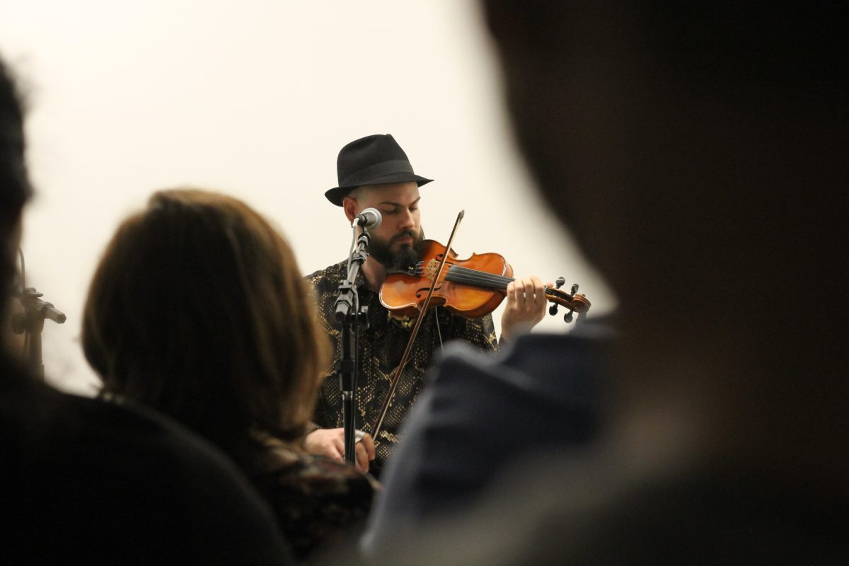 Música cigana com o grupo Baxtale | Foto: Igor Sperotto