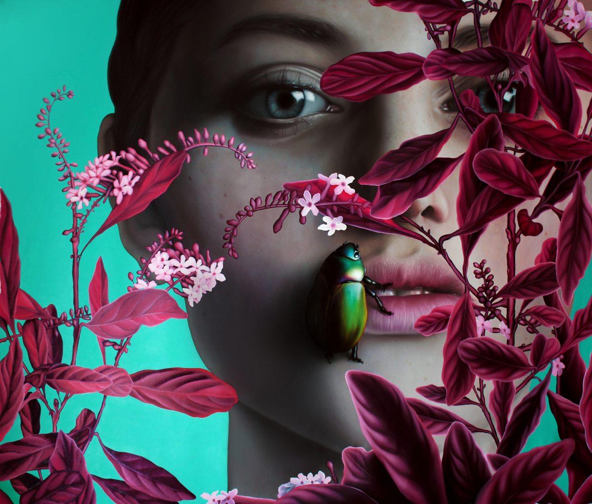 Dentro da Floresta Vermelha | Obra: Patrick Rigon