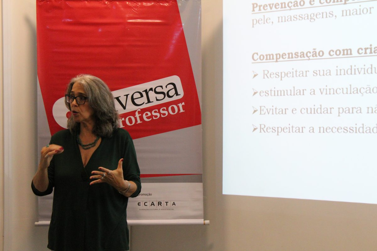 Conversa de Professor POA | Primeiríssima infância | Foto: Glaci Borges