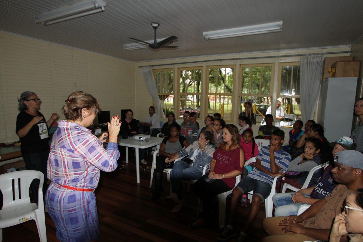 Escola Municipal de Ensino Fundamental de Surdos Bilíngüe Salomão Watnick, de Porto Alegre | Foto: Igor Sperotto