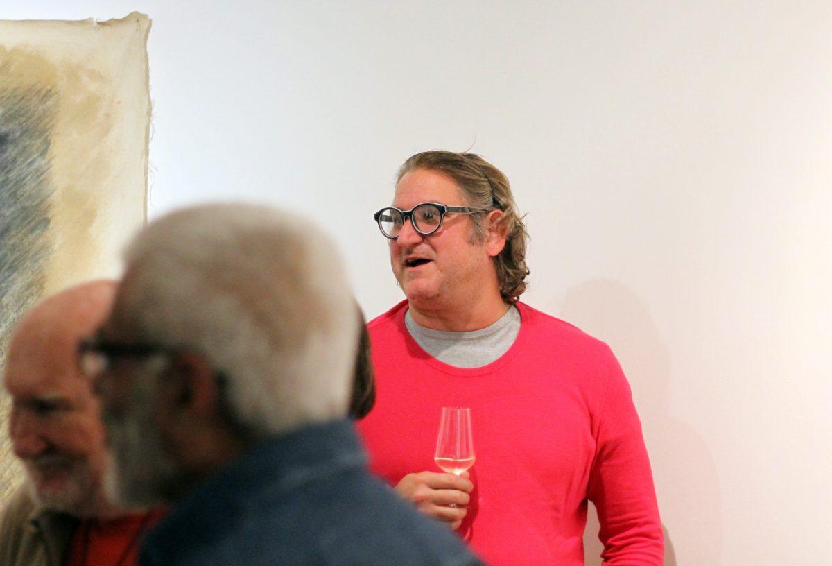 Inauguração da mostra Clóvis Dariano | Foto: Igor Sperotto