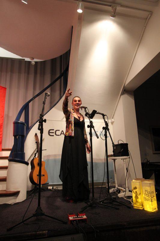 Lila Borges apresenta Mulher Popular Brasileira | Foto: Igor Sperotto