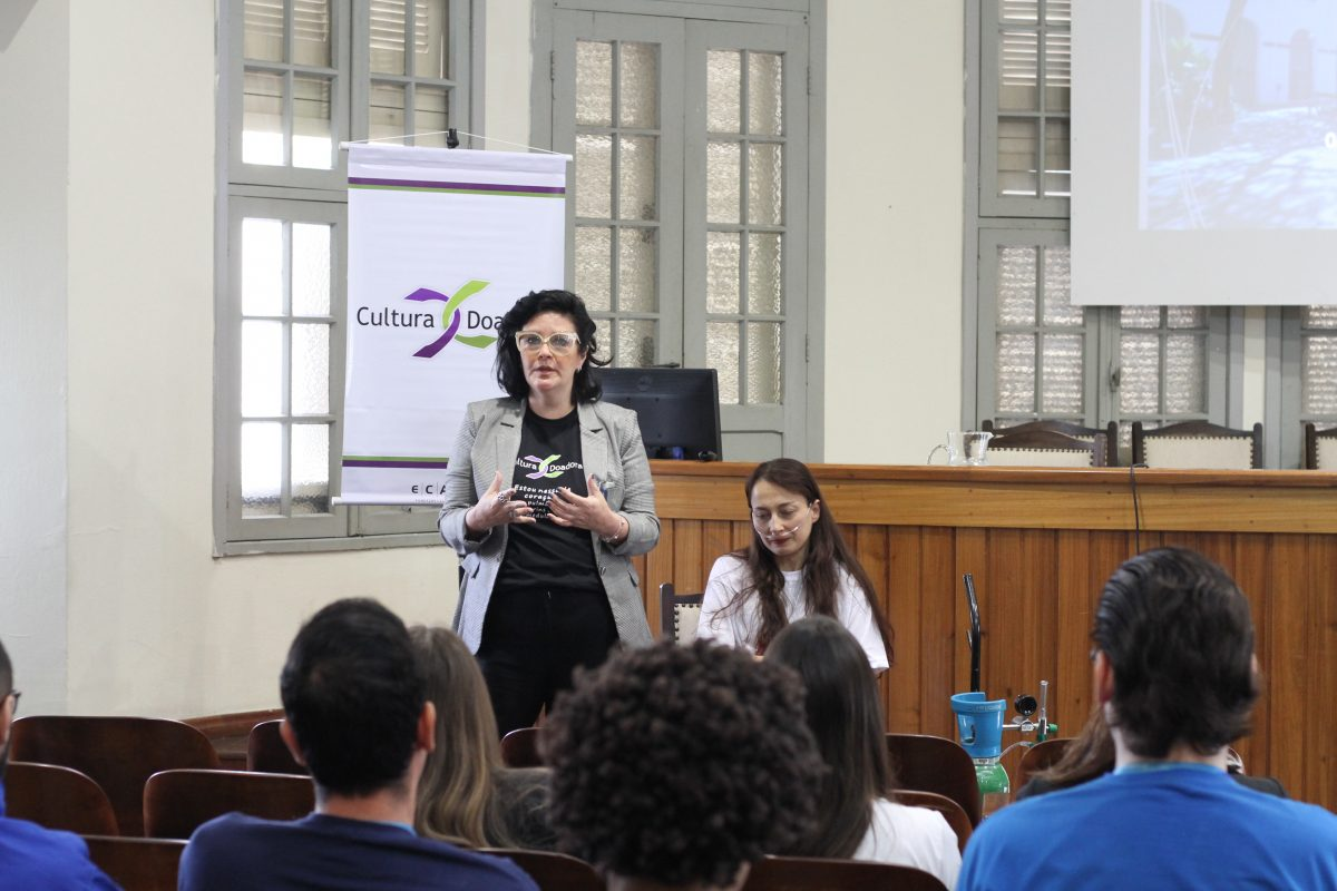 Cultura Doadora no Colégio Marista Rosário  | Foto: Igor Sperotto