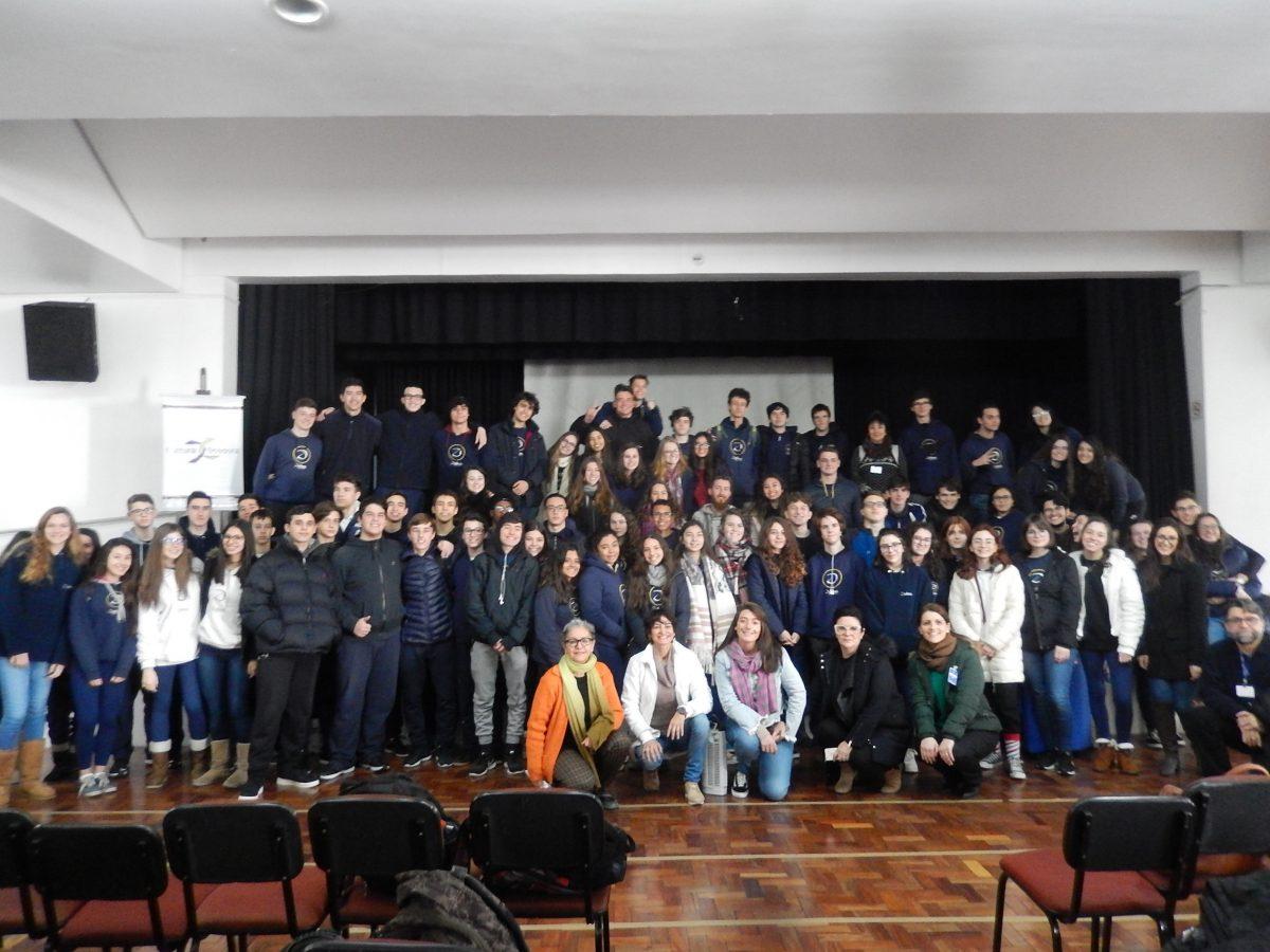 Cultura Doadora do Colégio Pastor Dohms Higienópolis em Porto Alegre | Foto: Glaci Borges/Divulgação
