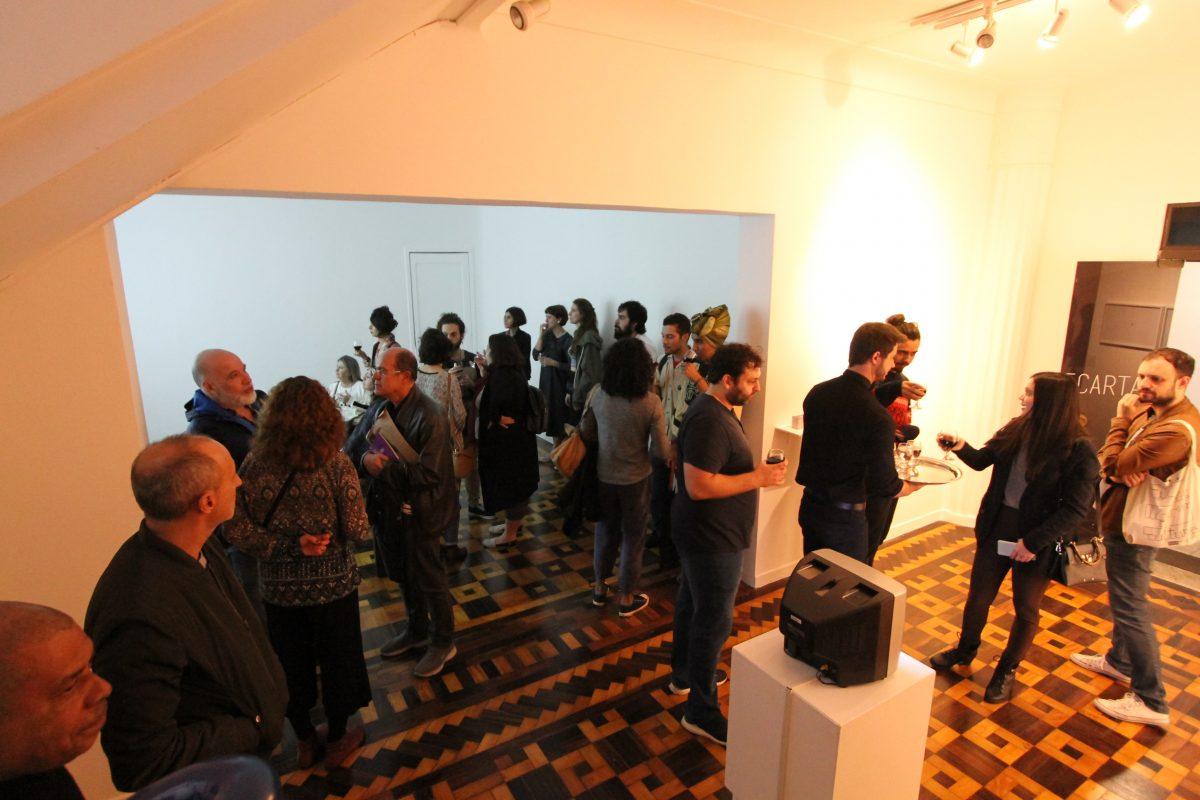 Inauguração da mostra Como faremos para desaparecer | Foto: Igor Sperotto