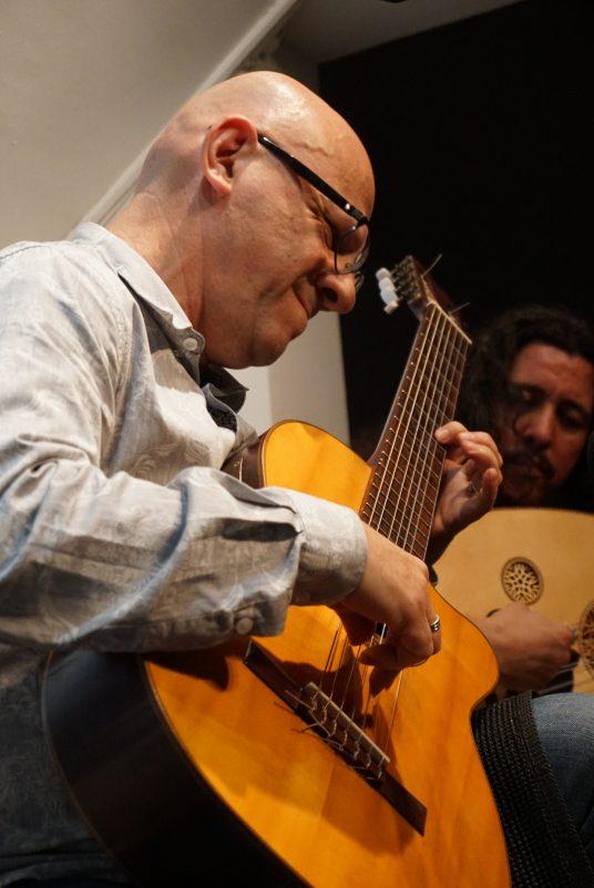 Uma noite balaio de cordas com Felipe Azevedo e Angelo Primon | Foto: Igor Sperotto