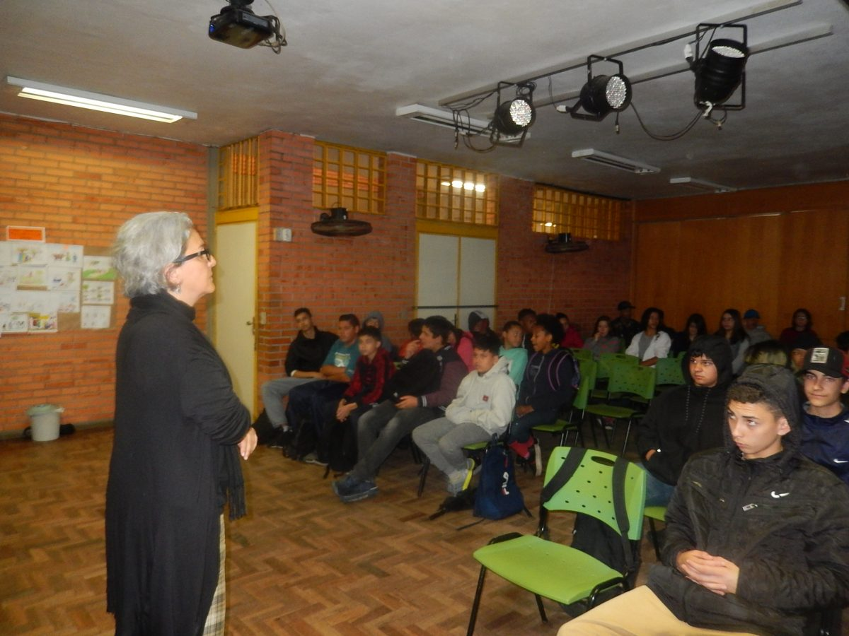 Cultura Doadora na EMEF Vila Monte Cristo | Foto: Glaci Borges