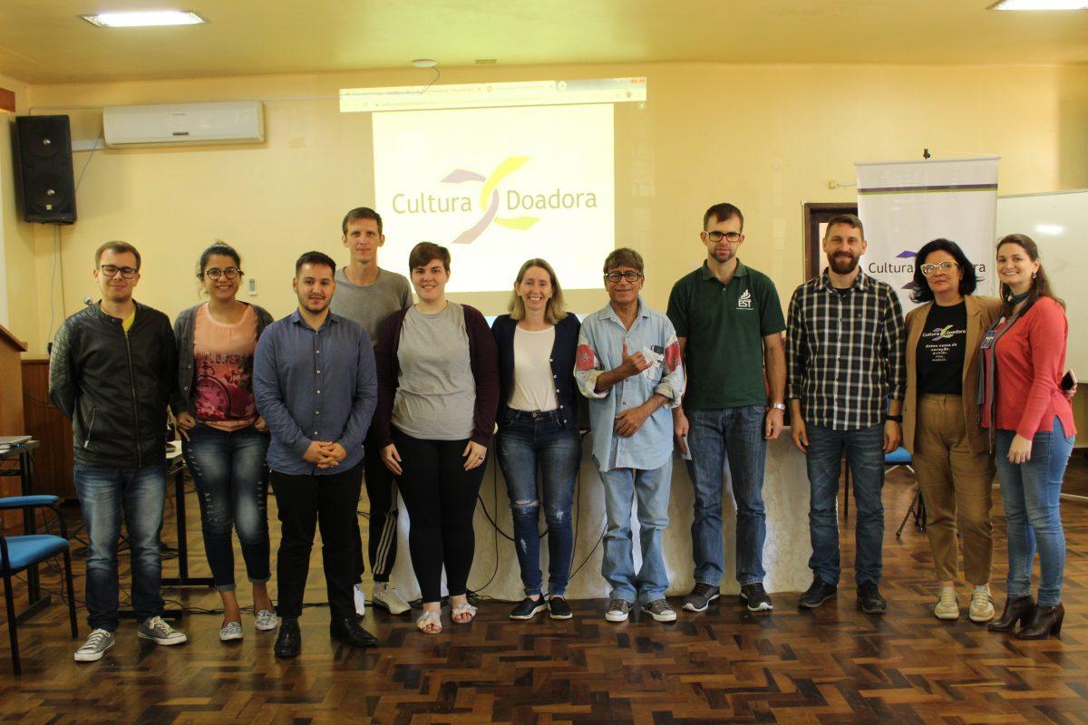Faculdades Est e o Cultura Doadora  | Foto: Glaci Borges