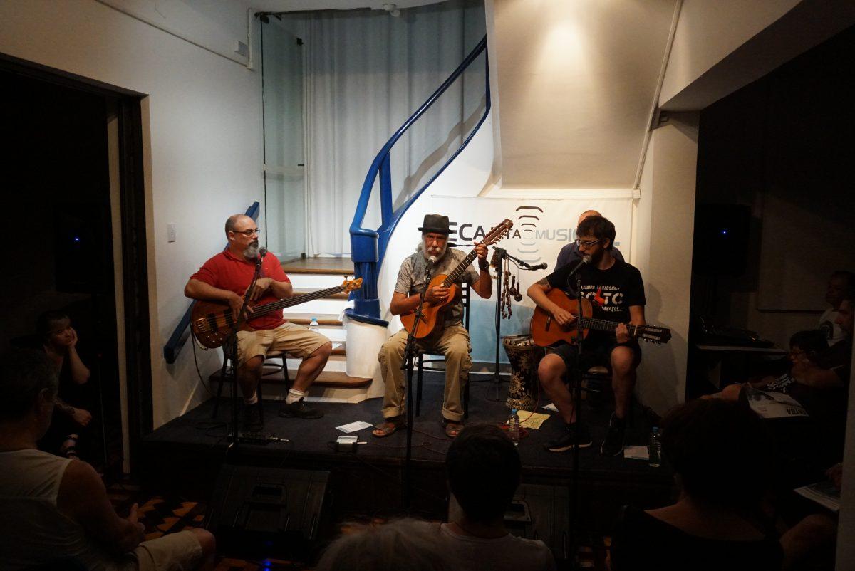 Ubiratan Carlos Gomes e Banda no Ecarta Musical | Foto: Igor Sperotto