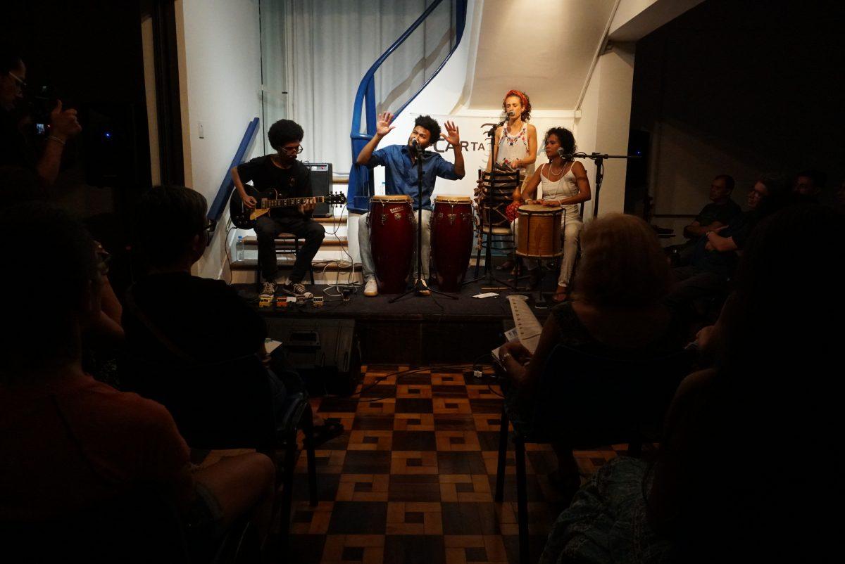 Dona Conceição apresenta Asè de Fala no Ecarta Musical | Foto: Igor Sperotto