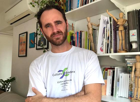 Paulo Fochi, educador, parceiro do Cultura Doadora. | Foto: Arquivo Pessoal