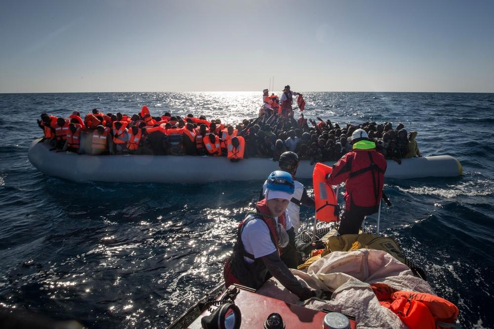Médicos Sem Fronteira no Mediterrâneo | Foto: Anthony Jean/MSF