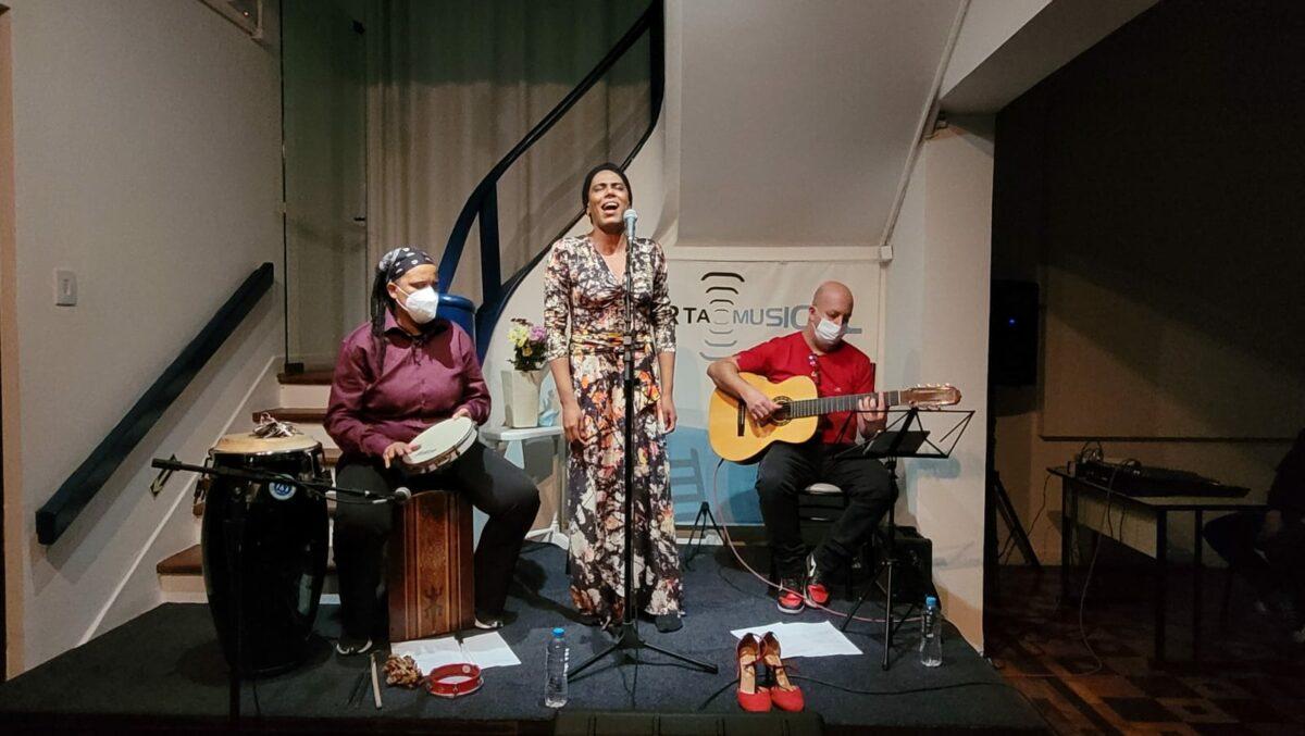 Show Resistir, reexistir no Ecarta Musical | Ffoto: Igor Sperotto